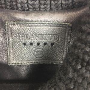Blank NYC Jackets & Coats - BlankNYC Black Vegan Leather Moto Jacket